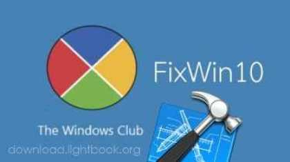 تحميل برنامج FixWin 10 لحل واصلاح مشاكل نظام ويندوز 10 مجانا