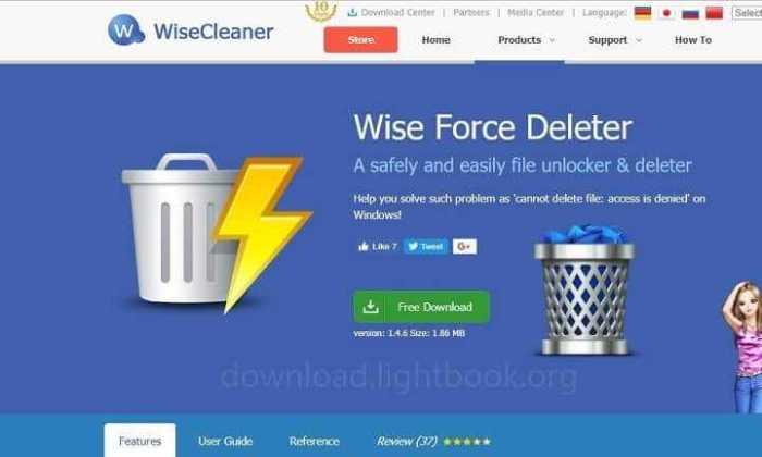 Télécharger Wise Force Deleter Supprimer Les Fichiers