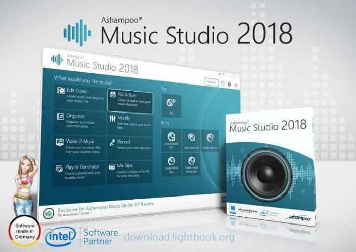 تحميل برنامج ميوزك ستوديو Music Studio 2018 محرر الصوت مجانا
