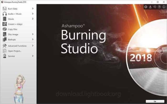 Download Ashampoo Burning Studio 2018 Burn CD/DVD & Blu-ray