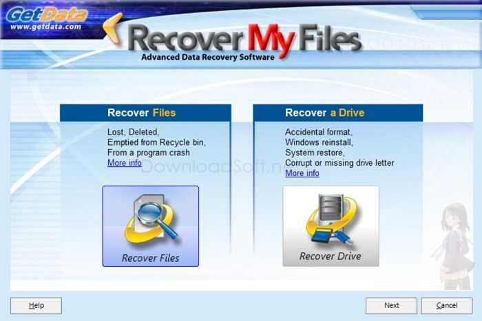 Download Recover My Files 2019 for Windows 32/64 bit