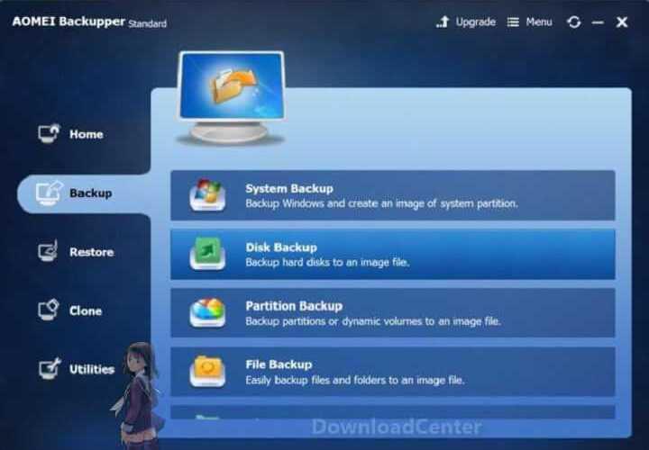Download AOMEI Backupper Standard - Backup Files for PC