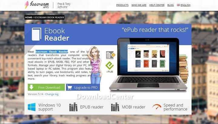 Download Icecream Ebook Reader for PC & Tablet Latest Free Version