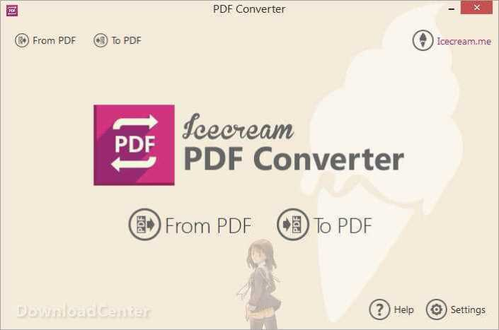 Télécharger Icecream PDF Converter Pour Windows 32/64 bit