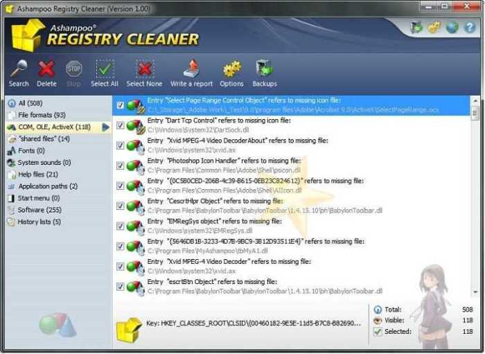 Descargar Ashampoo Registry Cleaner Corregir Errores
