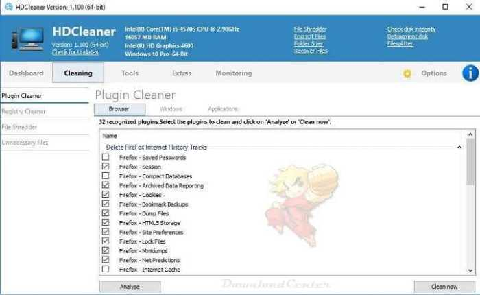 Download HDCleaner - Maintain Clean & Speed Up Your PC