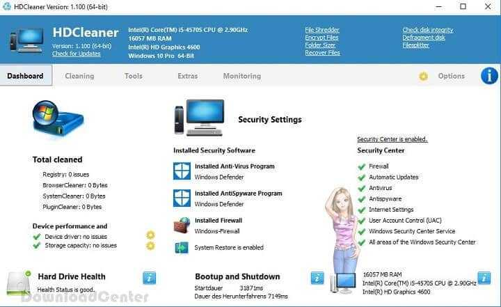Download HDCleaner to Maintain, Clean & Speed Up Windows PC