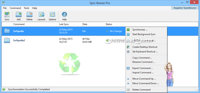 Download Sync Breeze Synchronize Files to Your PC for Free