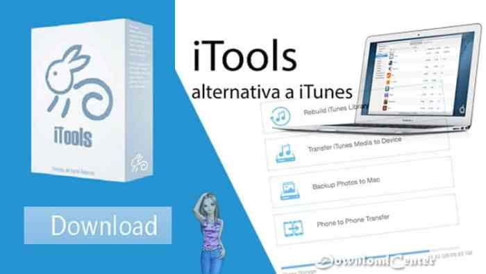 Descargar iTools Primera Alternativa Gratis a iTunes para PC