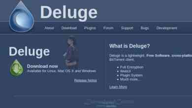 Download Deluge Full-Featured to Share Files Open Source