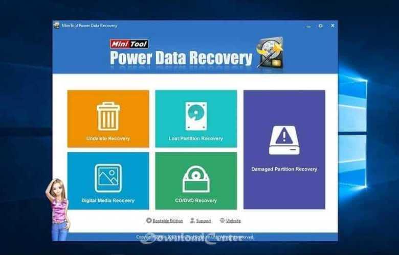 تحميل MiniTool Power Data Recovery Free استعادة البيانات المحذوفة
