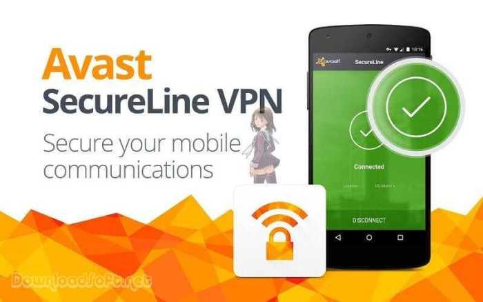 Avast SecureLine VPN لضمان الخصوصية الشخصية