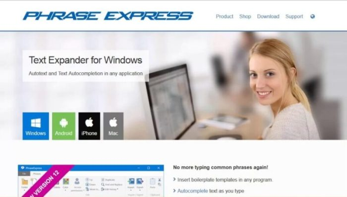 Download PhraseExpress Share
