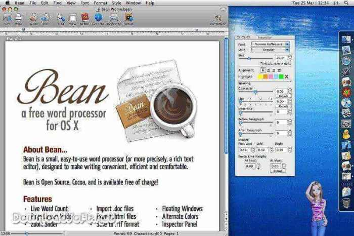 Download Bean Word Processor