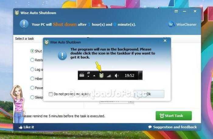 Télécharger Wise Auto Shutdown Gratuit pour Windows
