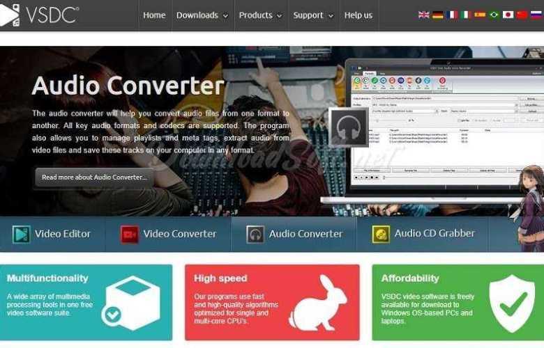 Download VSDC Free Audio Converter - Edit & Convert Audio