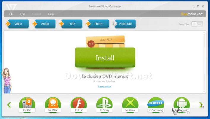 Descargar Freemake Video Converter para Windows 32/64 bit