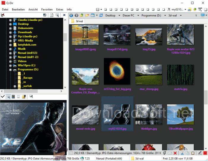 Descargar Q-Dir Gratis Gestor de Archivos para Windows