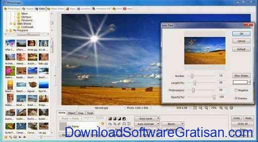 Download Aplikasi Edit Foto Gratis untuk PC Photoscape