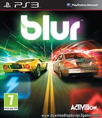 BLUR PS3 ISO Download Free +DLC And Updates (PKG) For USA & EUR