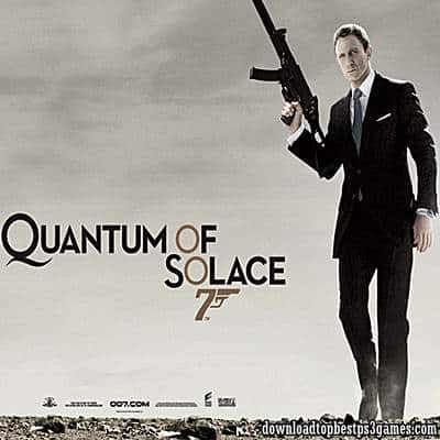 007 Quantum of Solace Game PS3