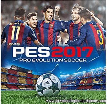 Pro Evolution Soccer 2017 Game PS3