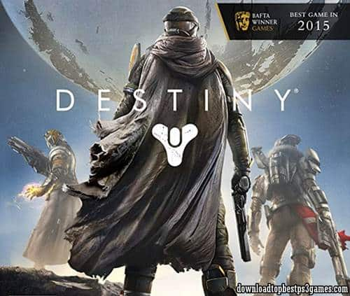 Destiny PS3 Download ISO Free +Full Updates & DLC (pkg) PS3 Jailbreak