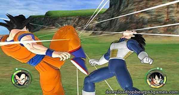 Dragon Ball Raging Blast PS3 Download