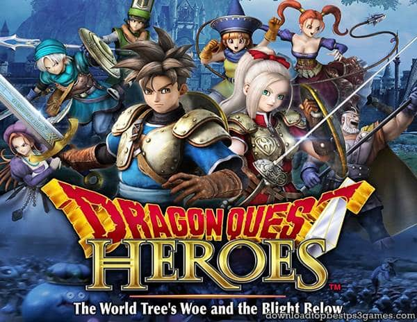 Dragon Quest Heroes PS3 Download Full Free Game (ISO) +All