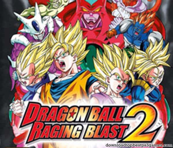 Dragon Ball Raging Blast 2 PS3 Iso Download - PS3 Games Free