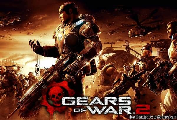 Gears of War 2 Xbox 360 ISO Download Game (Jtag/RGH/PAL