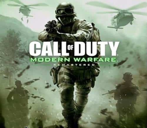 Call of Duty Modern Warfare Remastered Game PS4