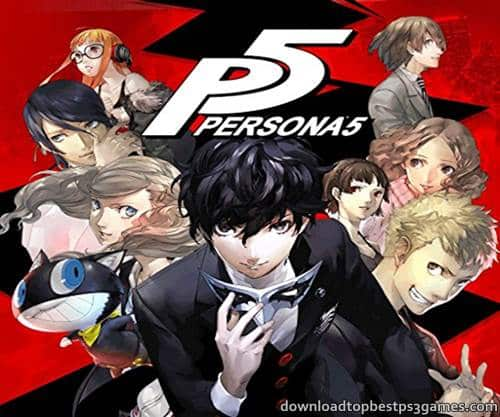 Persona 5 PS4 ISO Download Game Full +DLC (PKG) Format And Updates
