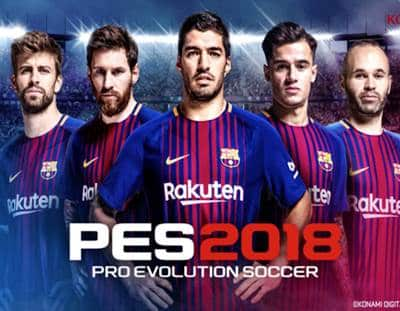 Pro Evolution Soccer 2018 Game Xbox 360
