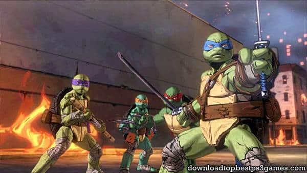 ps3 Teenage Mutant Ninja Turtles Mutants in Manhattan