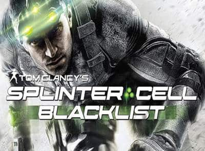 The Tom Clancy Splinter Cell Blacklist Game PS3