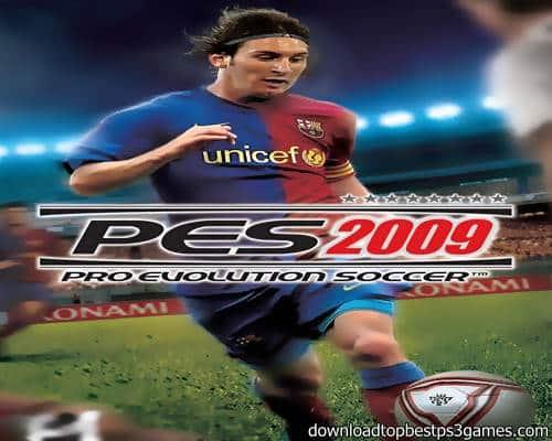 Pro Evolution Soccer 2009 Game PS3