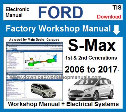 ford s max workshop service repair manual