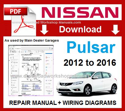 nissan pulsar service repair manual download