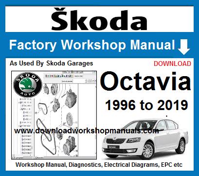 skoda octavia workshop repair manual