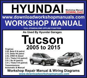 hyundai tucson workshop service repair