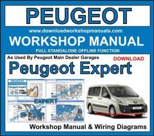 PEUGEOT EXPERT Workshop Repair Manual