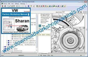 VW Sharan Workshop Repair Manual