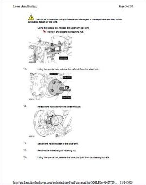 Land Rover Discovery 3 Service Repair Workshop Manual Download