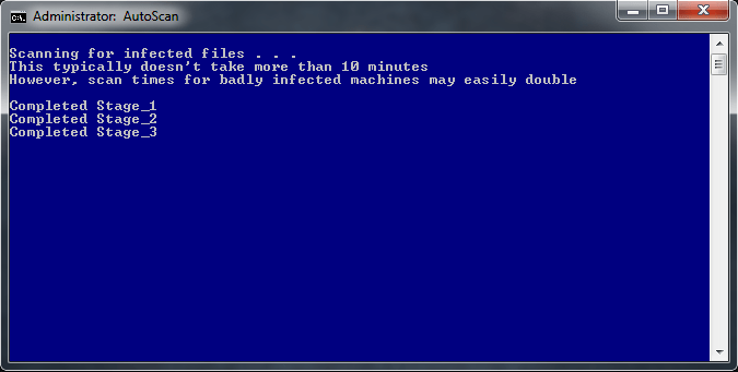 combofix run mode