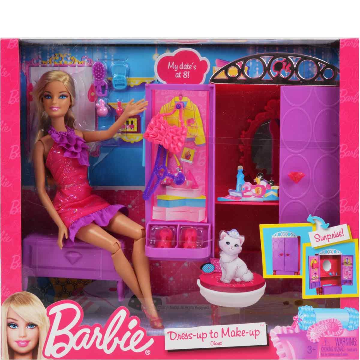 Barbie Dress Makeup Style Guru Fashion Glitz Glamour