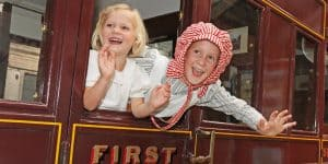 Dress up and explore vintage trains in our gallery - free of charge this weekend!