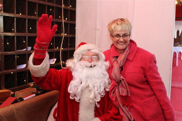 MP and MLA Visit Santa Claus at DCDR