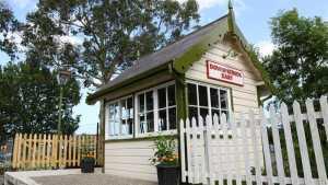 The former Bundoran Jct Signal Cabin