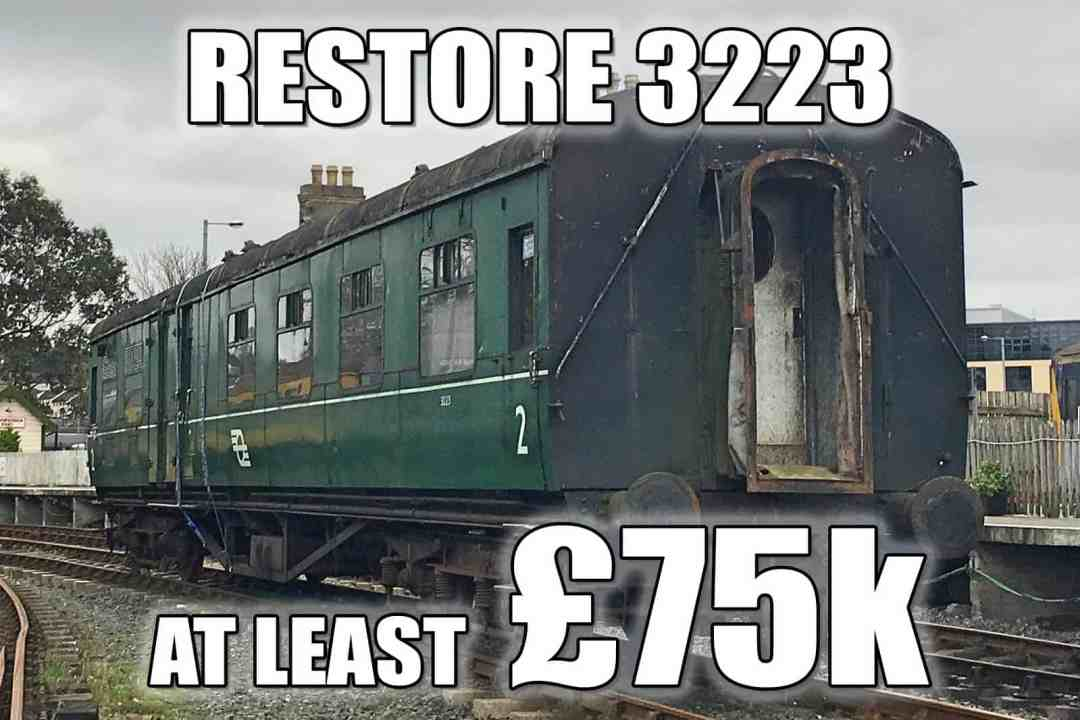 Carriage 3223 - at least £75k